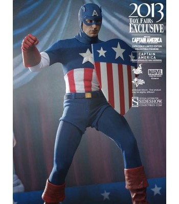 Captain America Star Spangled Man