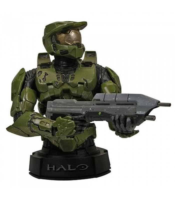 Halo 3 Green Master Chief Mini Bust