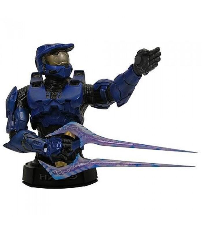 Halo 3 Blue Master Chief Mini Bust